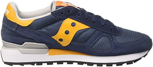 Saucony Multicolore Ombre D'origine bleu Jaune De 693 Bleu Hommes Course Chaussures 8d58q