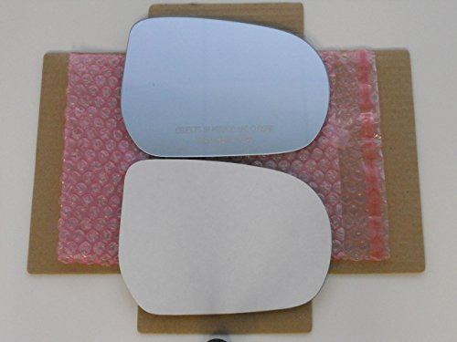 (New Replacement Mirror Glass with FULL SIZE ADHESIVE for ESCAPE TRIBUTE MARINER Passenger Side View Right RH)