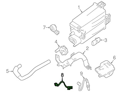 Amazon Com Nissan 22693 4ba0a Air Fuel Ratio Sensor Automotive