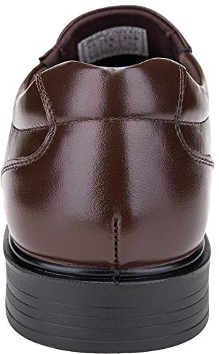 Pictures of JOUSEN Men's Loafers Leather Formal Square 6