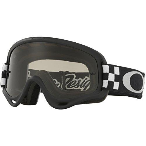 Oakley XSO Frame TLD Checker BlkWht with Dark Grey unisex-child Goggles (Black, Small), 1 - Goggles Kids Oakley