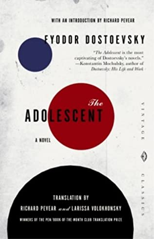 book cover of The Adolescent
