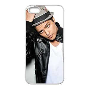 T-TGL(RQ) Iphone 5 5G 5S Hard Back Cover Case Bruno Mars with Hard Shell Protection