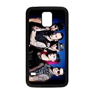 Samsung Galaxy S5 Cell Phone Case Covers Black KMFDM Phone cover Q3278346