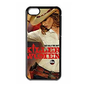 Killer Woman iPhone 5c Cell Phone Case Black xlb2-172099