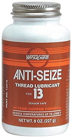 Versachem 13010 Anti-Seize Thread Lubricant - 8 oz. with Brush-Top Bottle