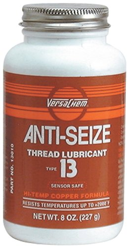 Versachem 13010-12PK Anti-Seize Thread Lubricant - 8 oz. with Brush-Top Bottle, (Pack of 12) by Versachem