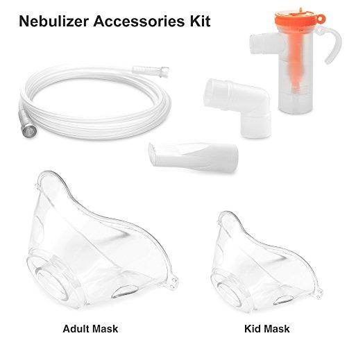 - 1 Set Accessories Kit for Portable Compressor System Mist Inhaler Vaporizer