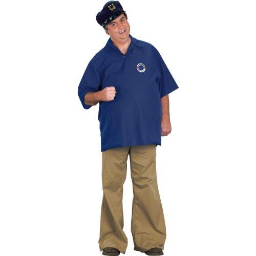 FunWorld Skipper Costume, Blue, One