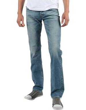 Mens Ricky Straight Denim Jeans In Hang Em High