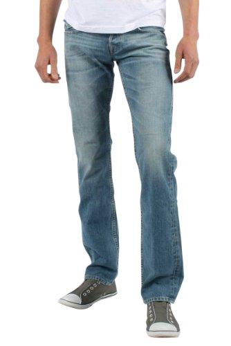 True Religion - Mens Ricky Straight Denim Jeans in Hang Em High, Size: 40, Color: Hang Em High