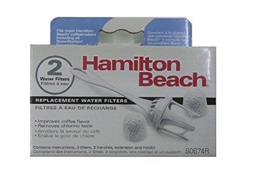 Hamilton Beach Coffeemaker Water Filter 80674 4 FILTERS