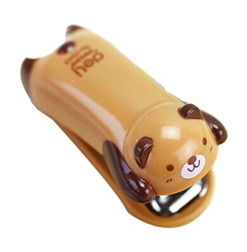 Set Of Two Fashion And Cute Portable Desktop Stapler (7x5cm, Brown) (Electric Booklet Stapler)