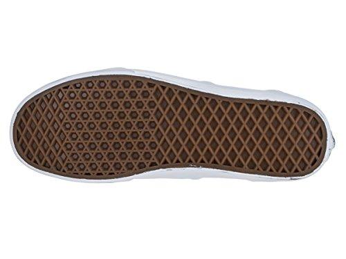 Vnas Mens Era (croc Läder) Svart / Sann Vit Vn-0zulggn Svart / Sann Viton Låda