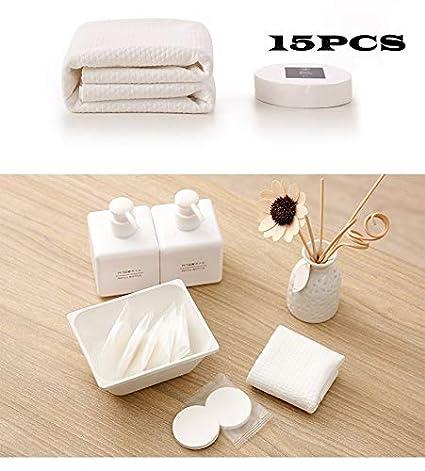 F-BBKO - Paños de Limpieza Comprimidos (100% algodón, 20 x 40