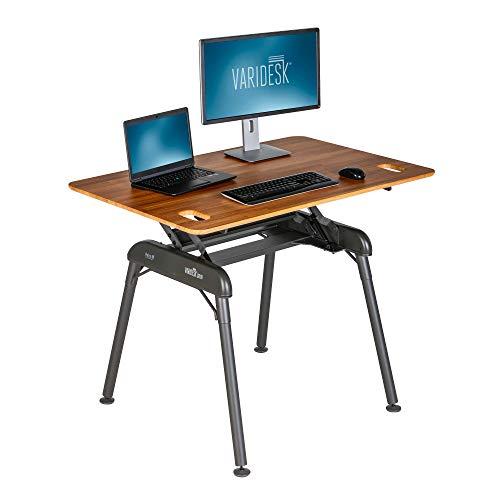 VARIDESK Pro Desk 48 Full Standing Desk (- Butcher Block)
