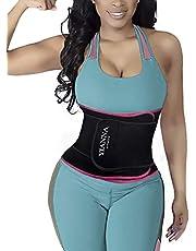 YIANNA Midjeträningsbälte för kvinnor män sport kroppsformare svett magband träningsgördel