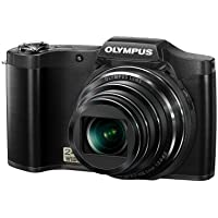 Olympus SZ-12 14MP Digital Camera with 24x Wide-Angle Zoom (Black) (Old Model)
