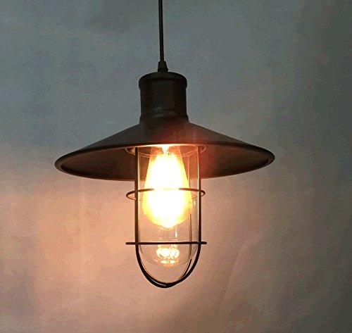 SADASD Lámpara de techo industrial vintage lámpara colgante ...