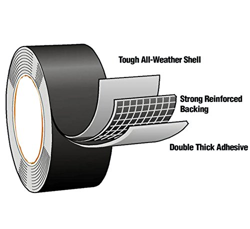 Flex X-Strong Seal Tap - Flexible Top Quality Rubberized Waterproof Adhesive Repair Tape 4x5