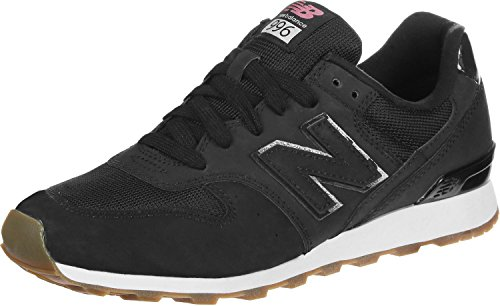 New Balance 996, Baskets Mode Femme Noir
