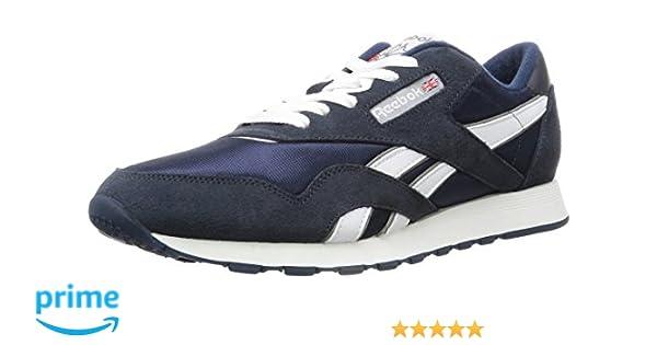 7a536a2c33e59 Reebok Men s Cl Nylon Fashion Sneaker