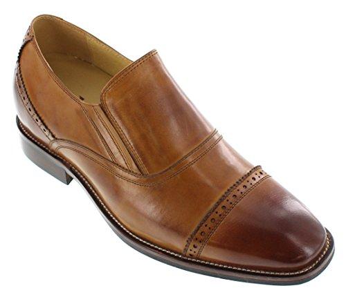 mens dress shoes 1 5 inch heel - 7