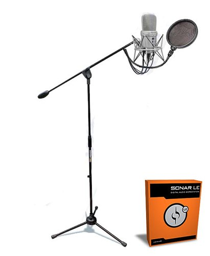 G-track Usb Mic (Samson G-Track USB Mic Podcast Deluxe Kit w/ Stand)