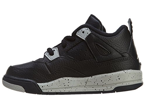 Jordan GREY 707432 TECH 003 BT LS Retro A 4 BLACK BLACK Kids N TxrqTwF