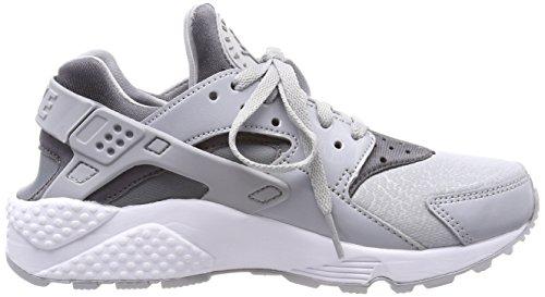 Nike Air Huarache Run, Sneaker Donna Grigio (Wolf Grey/Cool Grey-black)