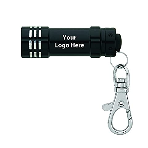Led Flashlight With Lobster Clip - 140 Quantity - $3.15 Each - PROMOTIONAL PRODUCT / BULK / BRANDED with YOUR LOGO / - Customized Lobster