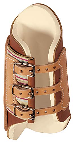 (Weaver Leather Splint Boots Med Brn/Tan)