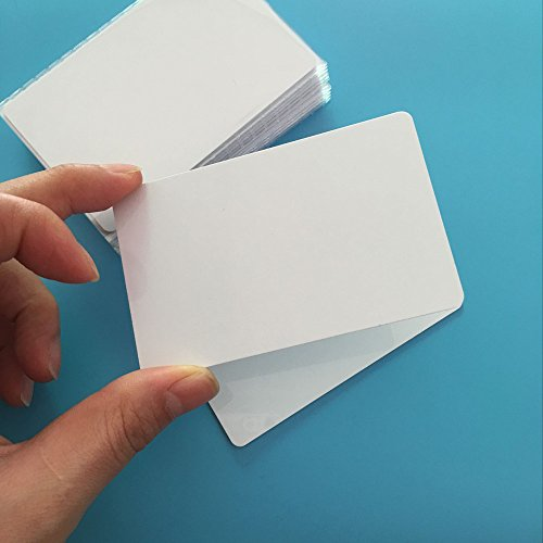 JEERUI 10PCS Ntag215 NFC Forum Type 2 RFID White PVC NFC Card For All NFC Mobile Phone and Devices
