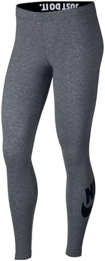Desconocido Nike Leggings Leg-A-See Logo Mallas, Mujer, Gris ...