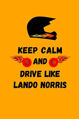 Keep Calm And Drive Like Lando Norris: Note Book por DriveIn DriveOut