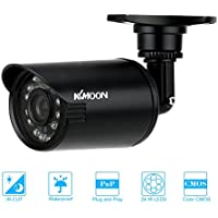 KKmoon 800TVL Bullet CCTV Security Camera Waterproof IR-CUT Day/Night Vision Home Surveillance NTSC System