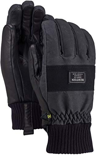 Burton Dam Glove, True Black Wax, Medium
