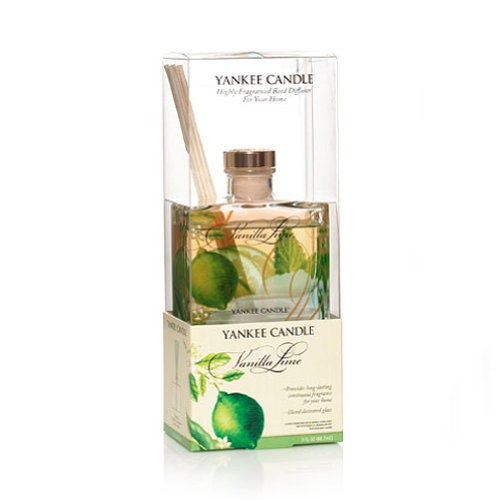 Vanilla Sherry (1166348 Vanilla Lime Signature Reed Diffuser by Yankee Candle 3 oz)
