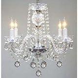 Murano Venetian Style All Crystal Chandelier H17 x W17