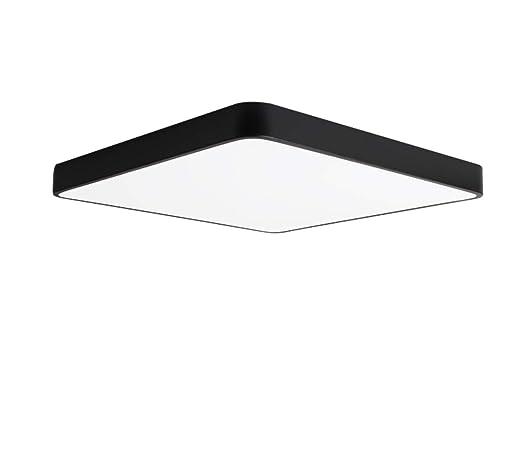 Diseño moderno negro hierro metal frontera techo lámpara ...