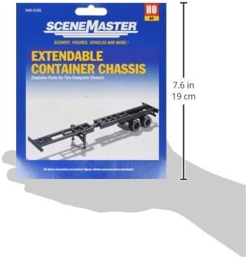 Kit Construcci/ón Contenedor Chasis Set Walthers Escala H0