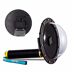 HolaFoto SHOOT 6'' inch Diving Underwater Camera Lens Dome Port Lens Housing for Gopro Hero 3+/4 Camera Underwater Photography