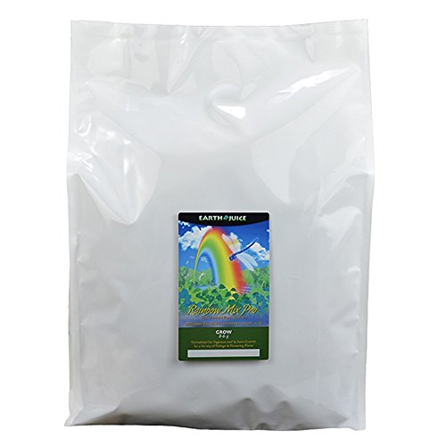 Rainbow Earth - Earth Juice 100210181 40 lb Rainbow Mix PRO Grow, White