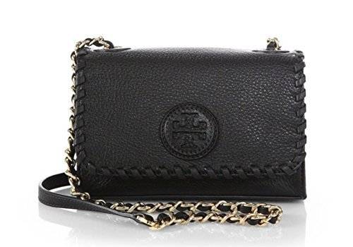 Tory Burch Marion Shrunken Adjustable Shoulder Crossbody Handbag by Tory Burch