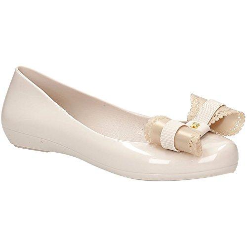 Ivory Ballerina Zaxy Femmes Pop Charm Flats Bow 5r57FxAq
