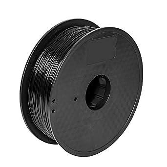 pxmalion Flexible TPU impresoras 3d filamento, 1,75 mm, Negro ...