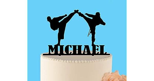Decoración para tarta de cumpleaños Ninja, decoración para ...