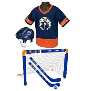 Franklin's NHL Edmonton Oilers Mini Hockey Combo Set