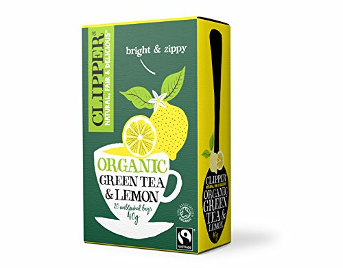 Clipper Organic Green Tea and Lemon