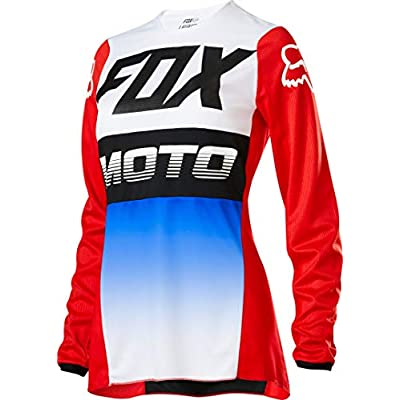 2020 Fox Racing Womens 180 Fyce Jersey-Blue/Red-XS: Automotive